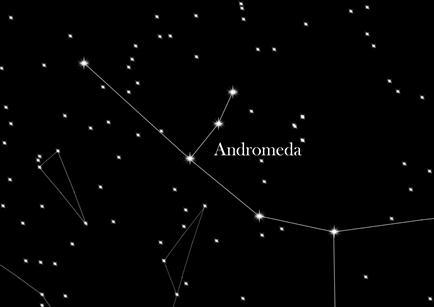 Sternbild Andromeda